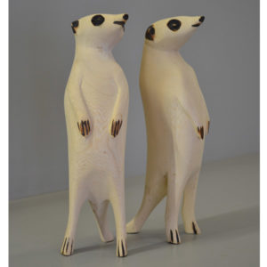Buy Wooden Meerkats South Africa